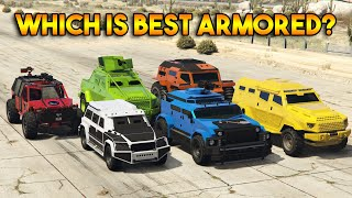 GTA 5 ONLINE : WHICH IS BEST ARMORED VEHICLE?