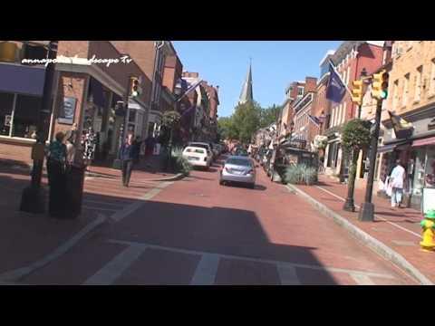Annapolis, MD - Driving Through Annapolis, MD
