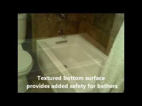 KOHLER K-1123-0 Archer 5-Foot Bath - YouTube