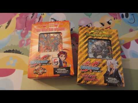 Future Card Buddyfight Double Trial Deck Unboxing!!!
