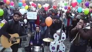 #IoSonoRIMBAUD: contromanifestazione alle sentinelle in piedi - Cesena 07/02/15