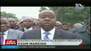 Exam marking: Education CS says KCSE marking will be devoid of irregularities