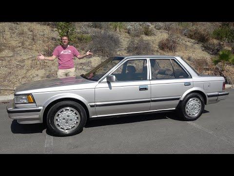 Nissan Maxima 1986 года был высоко-технологичным спортивным седаном из 80'х