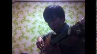 Yiruma - maybe (guitar version) - arranged by Virginia Nguyen, Covered by Junmo Ahn (안준모)