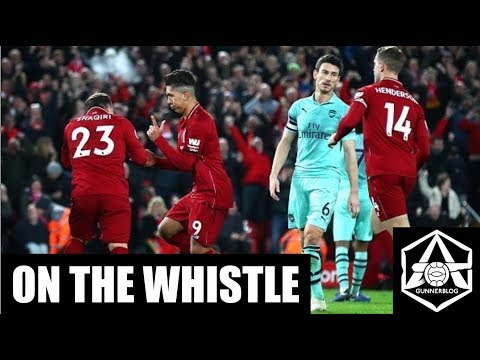 On the Whistle: Liverpool 5-1 Arsenal - 'Welcome to the new Arsenal, same as the old Arsenal'