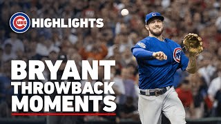 Kris Bryant Throwback Moments | Game 7 Final Out, 3-Homer Game, National League MVP