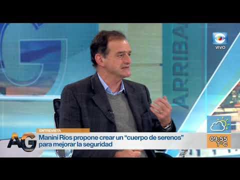 Entrevista Guido Manini Rios Y Guillermo Domenech La Formula Presidencial De Cabildo Abierto Youtube