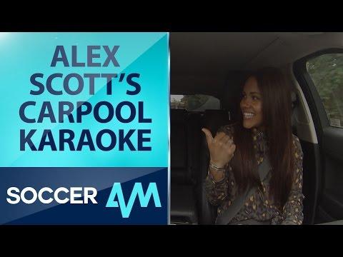 Alex Scott's Carpool Karaoke