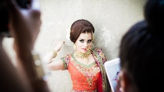 Indian Bridal Hair and Makeup - Start to Finish with Pink Orchid Studio