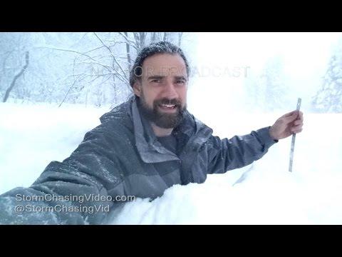 Lorraine, NY Extreme Amount Of Lake Effect Snow - 11/21/2016