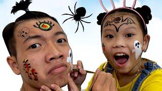 Anh Vẽ Hình Halloween Cho Em - Experiments Halloween Paint ❤Susi kids TV❤