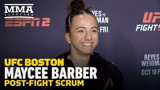 "UFC on ESPN 6: Maycee Barber Doubts Paige VanZant Accepts Fight: ""I Will Ruin Her Instagram Career"" Video"
