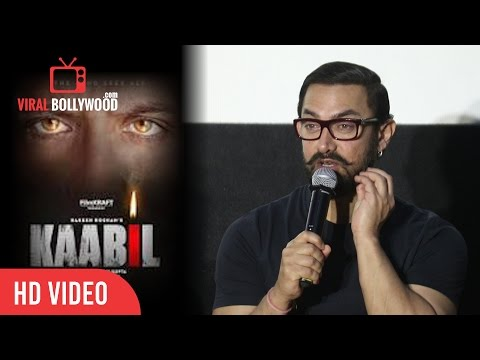 Thumbnail: Aamir Khan Reaction On Kaabil Trailer | I Liked The Trailer Very Much
