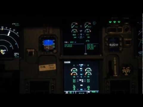 Saudi Airlines Full Flight ( Hail - Riyadh ) Airbus 321 Cockpit Video