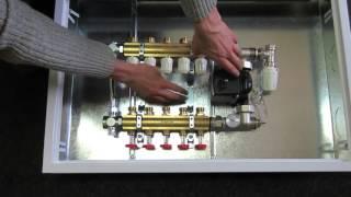 Коллекторный шкаф для водяного теплого пола от Альбатрос-Сантехника