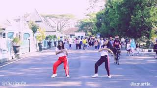 DANCE COVER AISYAH CHALLENGE #STEPBYSTEPID | DANCE IN PUBLIC