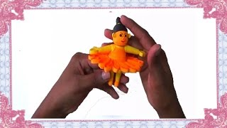 paper quilling : how to make 3D doll