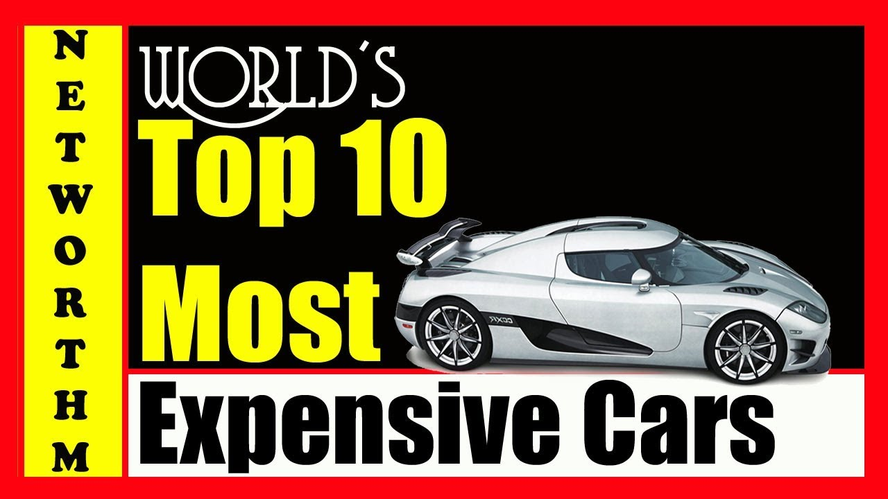 Top 10 Most Expensive Cars In The World 2018 List Youtube