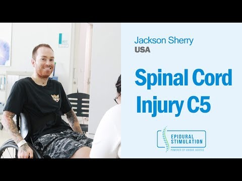 American C5 Spinal Cord Injury Patient Jackson Shares His Epidural Stimulation Experience