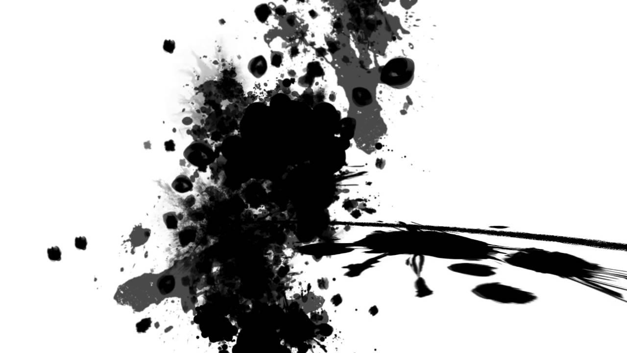 intro sans texte a telecharger gratuite hd art peinture noir blanc youtube. Black Bedroom Furniture Sets. Home Design Ideas