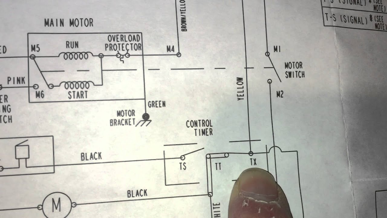 ge dryer no run 30 amp fuse in l1 using the schematic to test at electrically equivalent points youtube [ 1280 x 720 Pixel ]