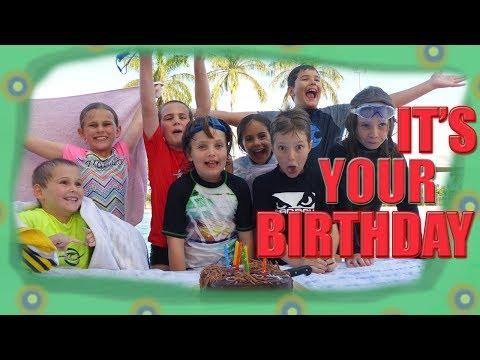 AUSSIE BIRTHDAY PARTY - Down Under Brothers - Heaths 8th Birthday
