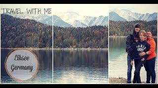 Hike Eibsee | Travel With Me | Bavaria Germany