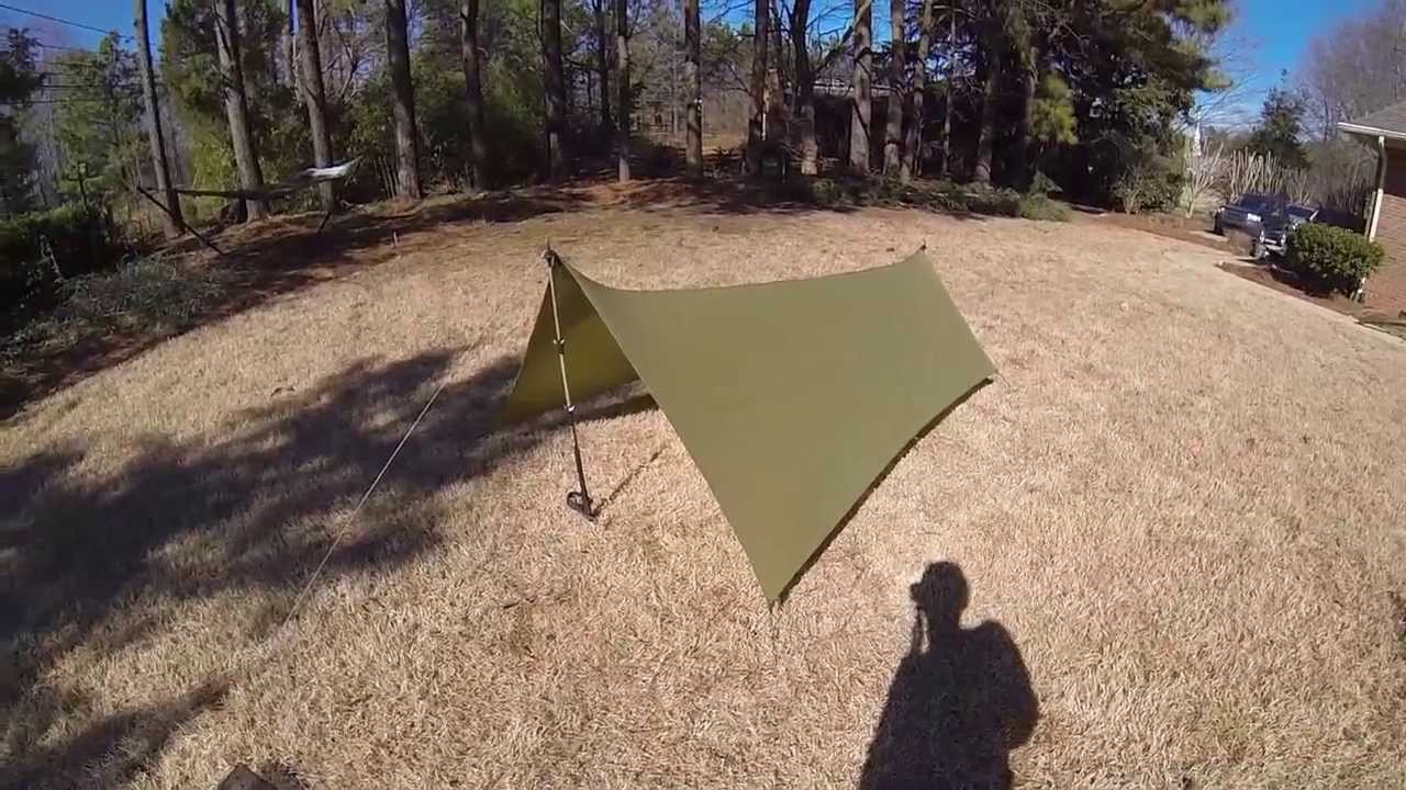 & DIY Gear: Silnylon Ground Tarp - YouTube