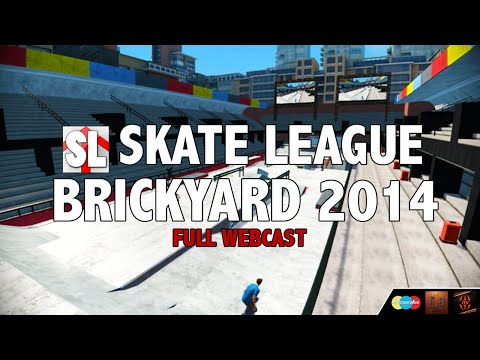 Skate League Brickyard 2014 Full Webcast
