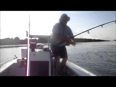 4-13-2015... Monster Bull Redfish... Tug of War Charters