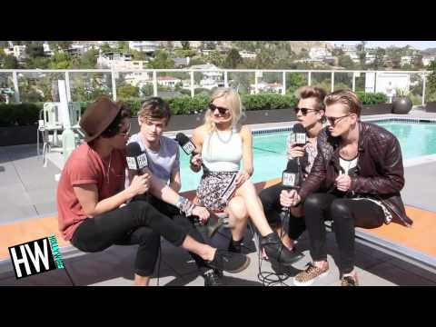The Vamps Show Off American Accents & Selfie Faces! (LOST HOT SEAT)