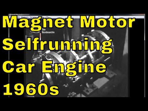Telugumesh Lueling Permanent Magnet Motor Vintage Selfrunning Magnet Motor From The 1960s