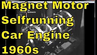 Lueling Permanent Magnet Motor - Vintage Selfrunning Magnet Motor from the 1960s