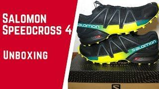 SALOMON SPEEDCROSS 4.- Unboxing y primeras impresiones