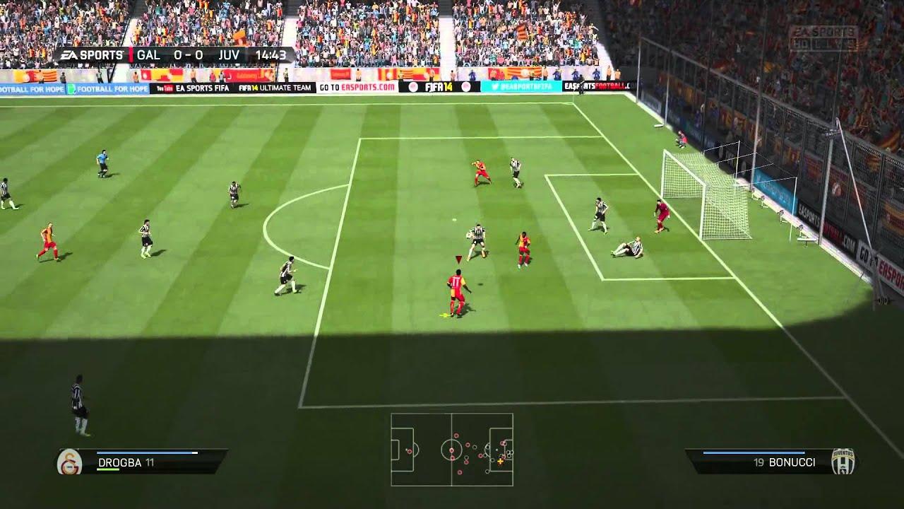 fifa 14 gameplay ps4 1080p jeux vid o par gamekult youtube. Black Bedroom Furniture Sets. Home Design Ideas