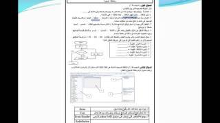 مراجعة ليلة الامتحان ( 3 ) كمبيوتر حل اختبارات  الصف الثالث الاعدادي الترم الاول 2014-2015