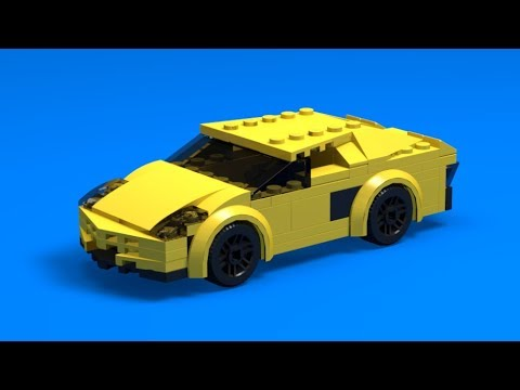 Tutorial Lego Lamborghini Aventador Instructions Youtube