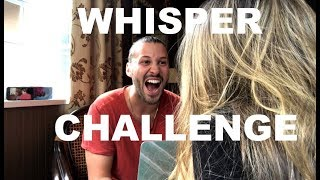 THE WHISPER CHALLENGE (husband vs wife)