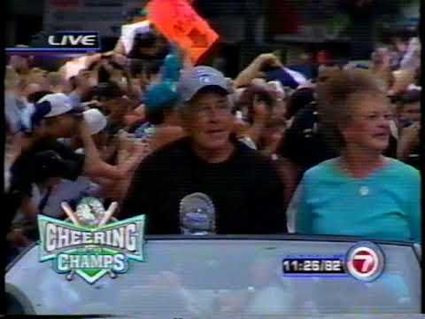 Pt. 3: Florida Marlins 2003 World Series Champions Downtown Miami Parade