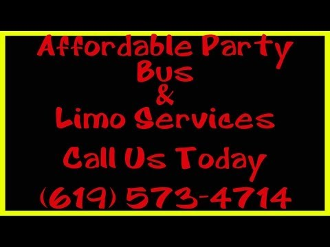 Party Bus San Diego CA | (619) 573-4714