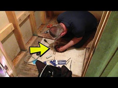 Podigao je stari tepih u dedinoj kući, a ono što je pronašao ga je ostavilo bez riječi !