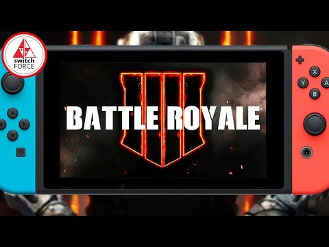 Call of Duty BATTLE ROYALE Coming To Switch In 2018!?