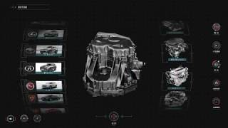3D-презентация автомобильной трансмиссии