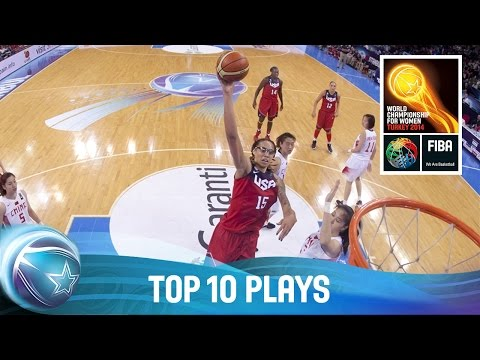 Top 10 Plays - 2014 FIBA World Championship for Women