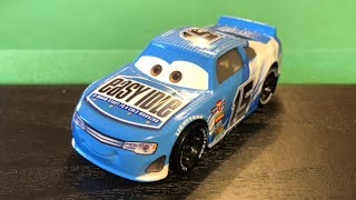 Mattel Disney Cars 3 2018 Carl Clutchen #15 Easy Idle Stock Car Die-cast Review