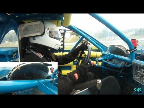 949 Productions: #49 Alex Piosson from Asphalt racing to a dirt track win Claremont Speedway