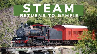 Steam Returns to Gympie