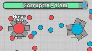 Diep.io FFA - Triple Twin's Bullet Hell (1.11M)