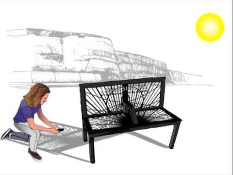 The 'Shadow Memories' Bench/Sundial Kicks You Back a Year in Time With Augmented Reality