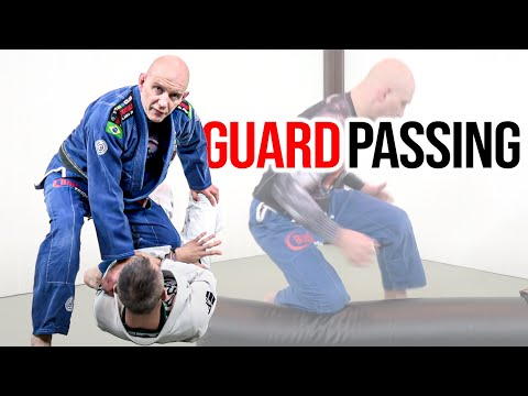 How to Drill Your BJJ Guard Passing on a Heavy Bag